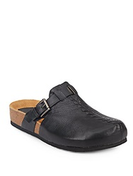 Sofft Branwen Leather Clogs Black