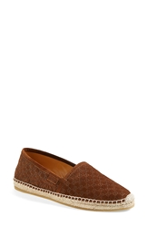 'Pilar Guccisima' Espadrille Flat Women Nut Brown