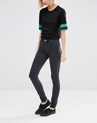 Weekday Body Super Skinny Jeans Grey