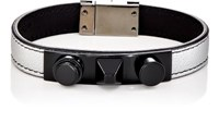 Saint Laurent Men's 3 Clous Bracelet Silver