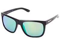 Arnette Fire Drill Gloss Black W Ctrs Chrome Sport Sunglasses