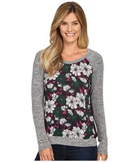 Kut From The Kloth Yalitza Eggplant Women's Long Sleeve Pullover Purple