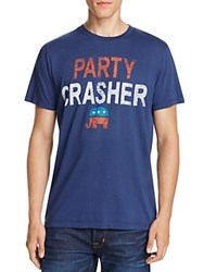 Junk Food Party Crasher Tee True Navy