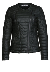 Only Faux Leather Jacket Olive Night Dark Green