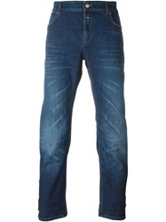 Closed 'Pedal Slim' Slim Jeans Blue