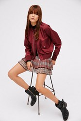 Fp One Womens Fp1 Oragami Plaid Mini