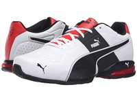 Puma Cell Surin 2 Fm White Black Men's Lace Up Casual Shoes
