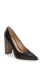 Pour La Victoire Women's 'Celina' Pointy Toe Pump Black Florence Leather