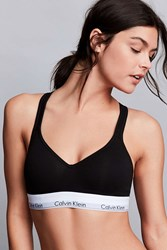 Calvin Klein Lightly Lined Bralette Black