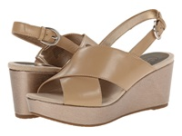 Circa Joan And David Wandy Light Natural Leather Women's Wedge Shoes Neutral