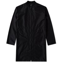 Helmut Lang Long Bomber Jacket Black