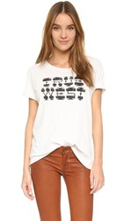 Mother Oversized Boxy Goodie Goodie Tee True West