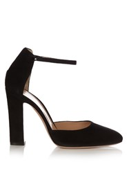 Gianvito Rossi 54 Suede Pumps Black