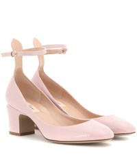 Valentino Tango Patent Leather Pumps Pink