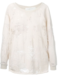 Iro 'Nona' Sweatshirt Nude And Neutrals
