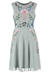 Frock And Frill Esmeralda Cocktail Dress Party Dress Frosty Green Mint