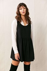 Urban Renewal Remade Wool Babydoll Dress Black