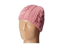 San Diego Hat Company Cable Stitch Knit Beanie Blush Beanies Pink