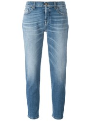 7 For All Mankind 'Josefina' Jeans Blue
