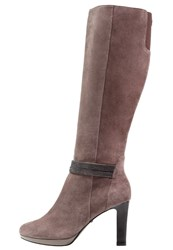Belmondo High Heeled Boots Taupe
