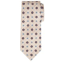 John Lewis And Co. Lennox Circle Print Tie Natural