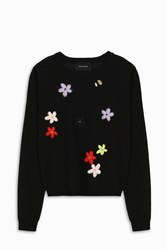 Simone Rocha Women S Flower Knit Jumper Boutique1 Multi