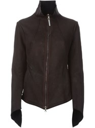 Isaac Sellam Experience Zipped Up Jacket Brown