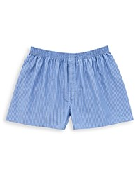 Thomas Pink Trafalgar Stripe Boxer Shorts Blue White