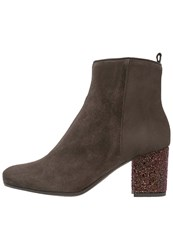 Kanna Tere Ankle Boots Dark Brown