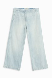 Current Elliott Women S Cropped Culottes Boutique1 Blue