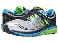Saucony Zealot Iso 2 Blue Slime Silver Men's Running Shoes White