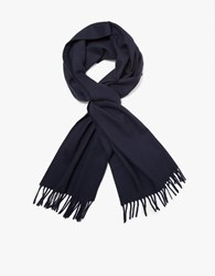 A.P.C. Large Scarf In Dark Navy