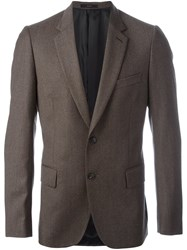 Paul Smith Tailored Blazer Jacket Brown
