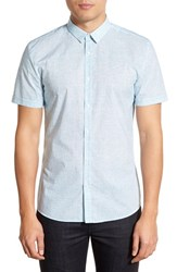 Men's Hugo 'Empson' Slim Fit Short Sleeve Print Sport Shirt