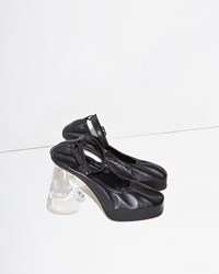 Simone Rocha Ankle Strap Mini Pump Black