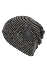 Men's Converse 'Winter Slouch' Knit Cap Black Converse Black