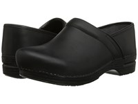 Dansko Pro Xp Black Burnished Nubuck Men's Clog Shoes