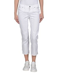 Jeckerson Trousers 3 4 Length Trousers Women White