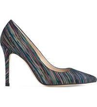 Lk Bennett Fern Striped Courts Mul Rainbow