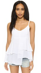 Wilt Layered Woven Cami White