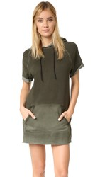 Cotton Citizen The Milan Cutoff Dress Olive