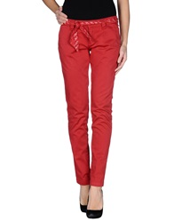 Dog Fox Casual Pants Red