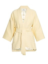 Hillier Bartley Waffle Texture Belted Kimono Jacket