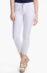 Yoga Jeans By Second Denim Second Yoga Jeans Skinny Ankle Jeans White