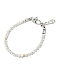 Kinder Pearl And Gold Cavier Bracelet Lagos