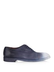 Maison Martin Margiela Airbrush Effect Leather Derby Shoes