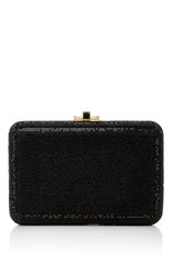 Judith Leiber Couture Embellished Rectangle Clutch Black
