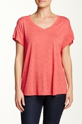 Olivia Moon Drop Shoulder Tee Pink