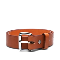 Tanner Goods Standard Belt Saddle Tan And Stainless Steel