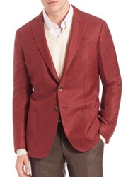 Saks Fifth Avenue Wool And Silk Sportcoat